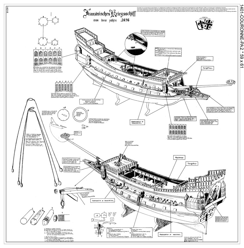 Modellismo navale navi modellismo scatole di montaggio for Piani di idee per la costruzione di ponti
